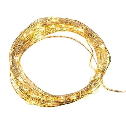 Amazon.com : QUN FENG LED SopoTek 13ft 40 LEDS Starry Lights Fairy ...