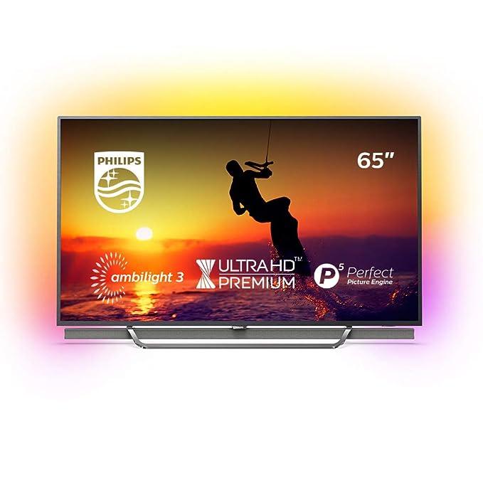 Philips 65PUS8602/12 164 cm (65 Zoll) Fernseher (4K Ultra HD, Triple Tuner, Smart TV)