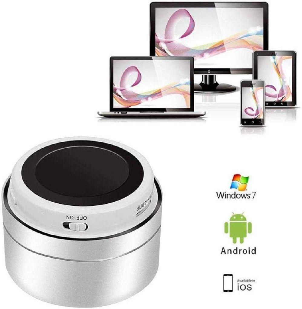 Altavoz Bluetooth port/átil con Bajos potentes Rango de conexi/ón Bluetooth y gu/ía de Voz para Android iOS PC y otros-S-YSYX-005