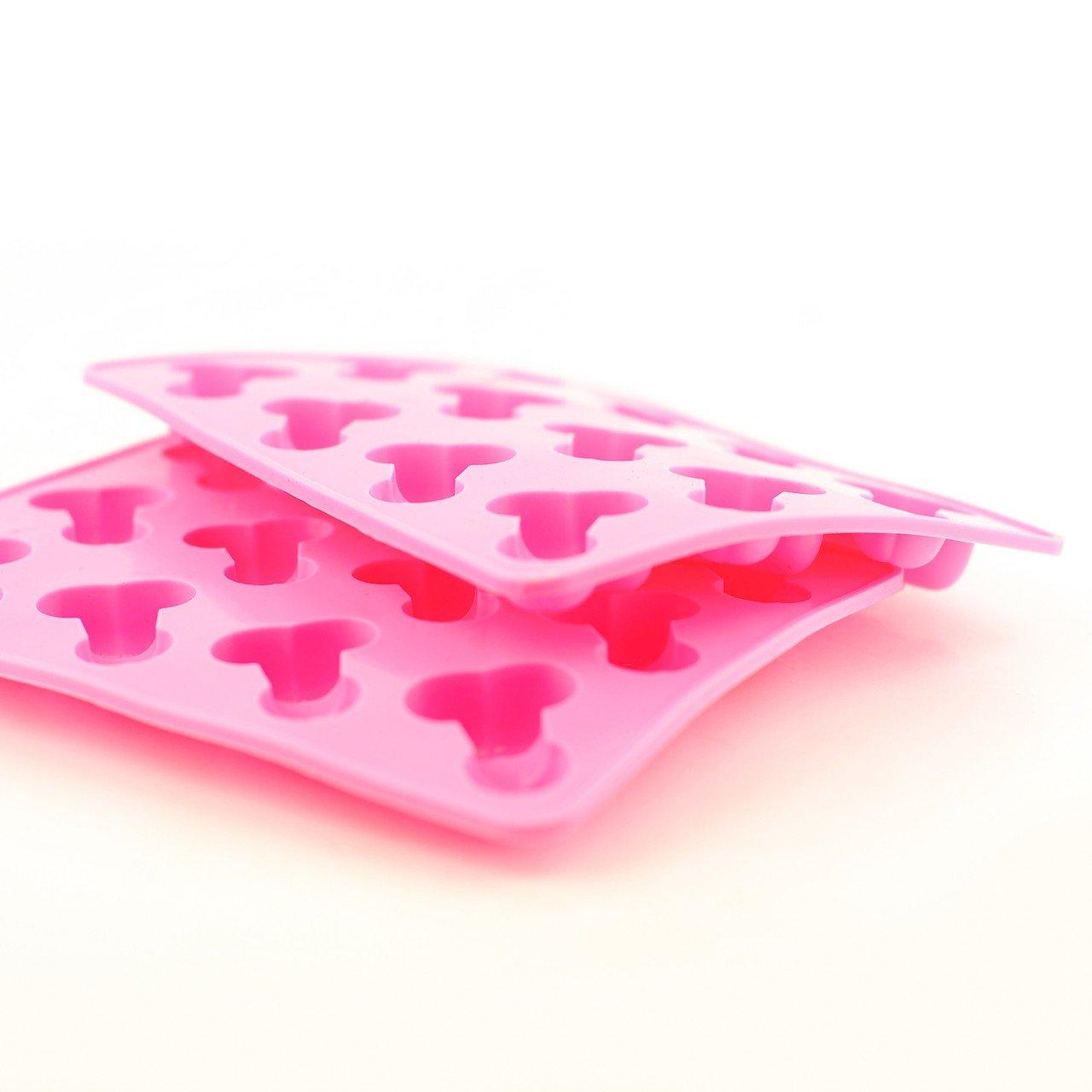 2 x Willy PENE Cubito de hielo bandeja para horno molde para gelatina feliz para despedida de soltera fiesta: Amazon.es: Hogar