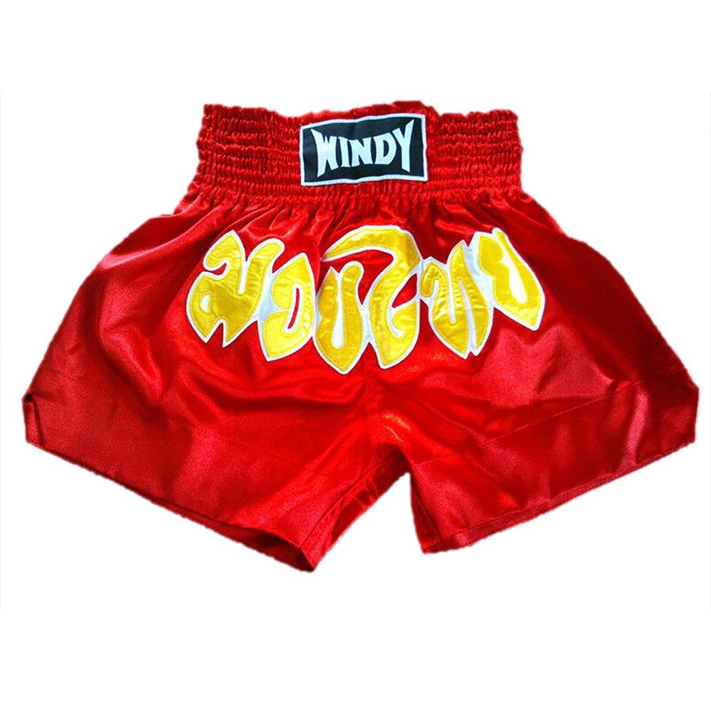 TopTie Boxing Shorts for Boxing Training Punching, MMA Muay Thai Kickboxing Trunks TKDV-AY53501