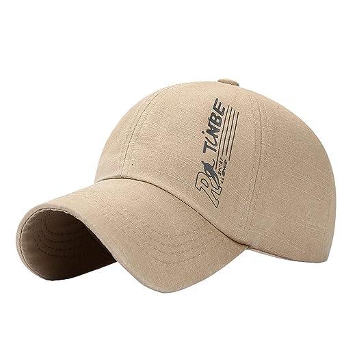 92391b031 Amazon.com: Baseball Cap Unisex Vintage Washed Print Ball Cap Golf ...