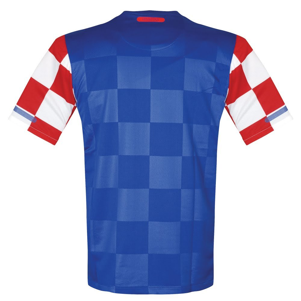 cheaper 35c72 74880 Amazon.com : Nike 10-12 Croatia Away Authentic Player-Issue ...