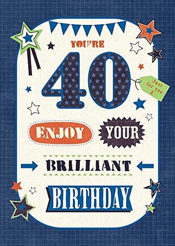 Wishing Well Studios - Tarjeta de felicitación de 40 ...