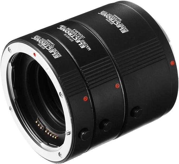 Fotga Macro Af Auto Focus Automatic Extension Tube Set Camera Photo
