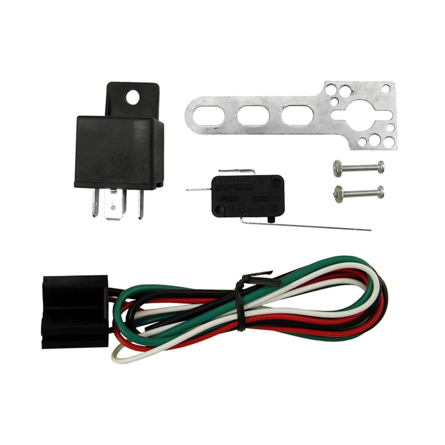 Nitrous Express 15504 Wide Open Throttle Nitrous Control Switch with 40 Amp 4 Pin Relay and Harness by Nitrous Express
