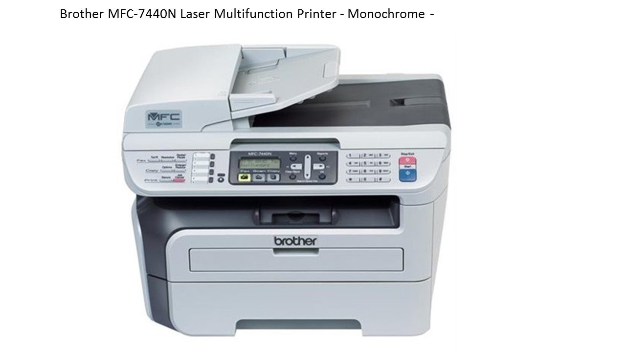 Brother MFC-7440N Netwerk Laserfax & Printer - Impresora ...
