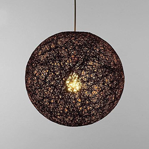 Rattan Ball Pendant Lights