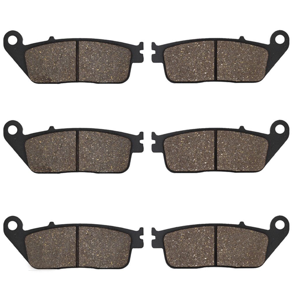 Cyleto Front and Rear Brake Pads for ST1100 ST 1100 ST1100A Pan European 1100 1990 1991 1992 1993 1994 1995 1996-2002