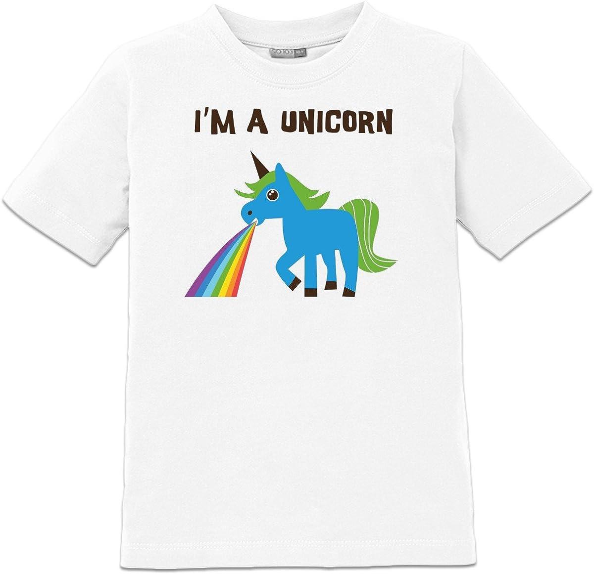 Camiseta de niño Im a Unicorn by Shirtcity: Amazon.es: Ropa y accesorios