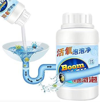 Leistungsstarker Abflussreiniger Kuchenabflussreiniger Sinken Deodorant Sauerstoff Blasen Reiniger Schnell Schaumreiniger Toilette Sauberes Wasse Rohrreinigungszubehor A1 Amazon De Drogerie Korperpflege