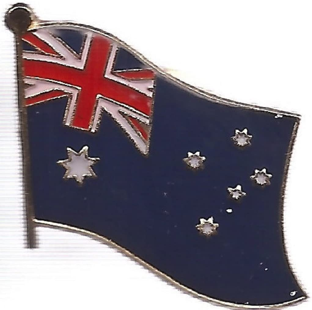 NEW AUSTRALIA BLUE COUNTRY FLAG EMBOSSED HAT CAP .