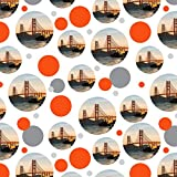 Golden Gate Bridge San Francisco Premium Gift Wrap Wrapping Paper Roll