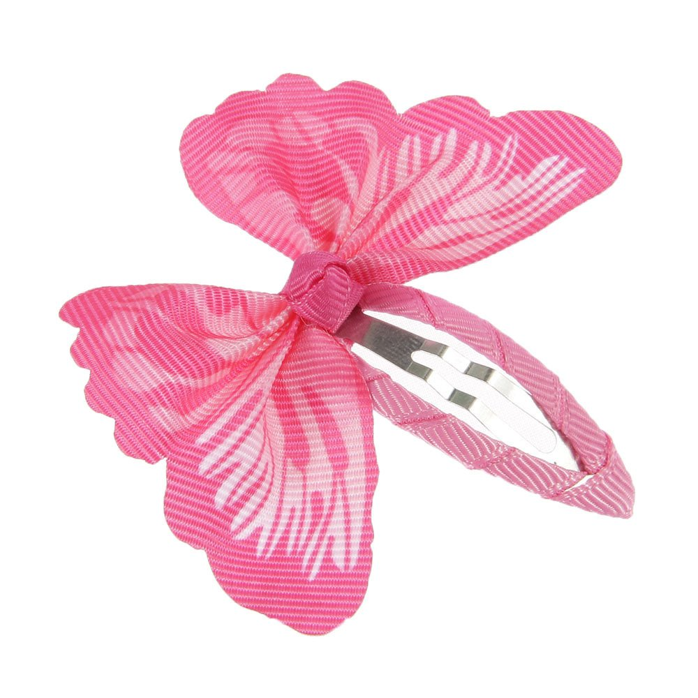 lovinglove Chiffon Flower Hair Bow Clips For Teens Toddlers Kids Children (10 Butterflies) by lovinglove (Image #6)