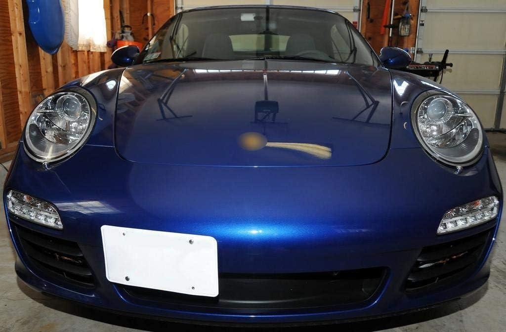 x xotic tech Gold Front License Plate Mount Bracket Tow Hook Holder for Porsche Panamera 2010+