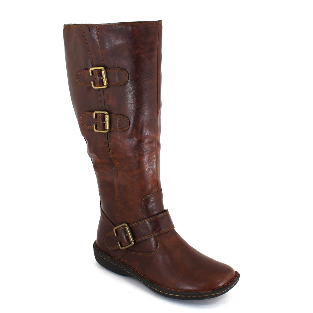 B.O.C. Women's, Cleo Tall wide Shaft Boots COFFEE 7.5 M