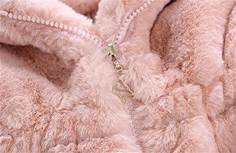 91c332413ea8 Winter Baby Girl Clothes Faux Fur Fleece Coat Pageant Warm Jacket ...