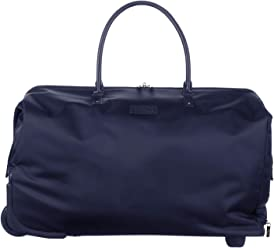 Lipault - Lady Plume Wheeled Weekend Bag - Top Handle Rolling Overnight Travel Duffel Luggage for