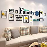 XK.DARLY Wall Home Decor DIY Picture Frames Collage Set Includes Picture Hanging for Living room Bedroom