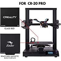 3D Printer Official Creality CR-20 Pro with Auto-Level, Touch Screen, Large Build Volume Capricorn PTFE and Bondtech Extruder Gears