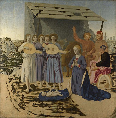 Oil Painting 'Piero Della Francesca The Nativity', 10 x 10 inch / 25 x 26 cm , on High Definition HD canvas prints is for Gifts And Laundry Room, Living Room And Study Room Decoration