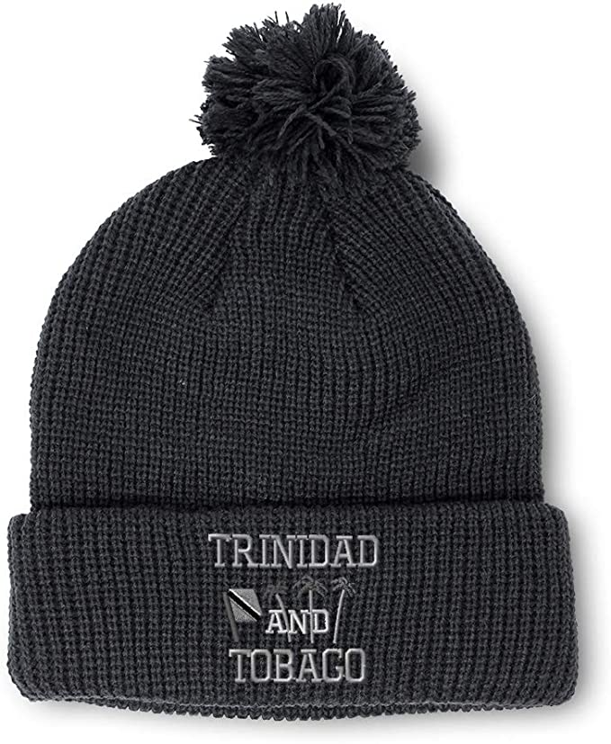 Trinidad Flag Men Women Knitted Hat Soft Snowboarding Hat