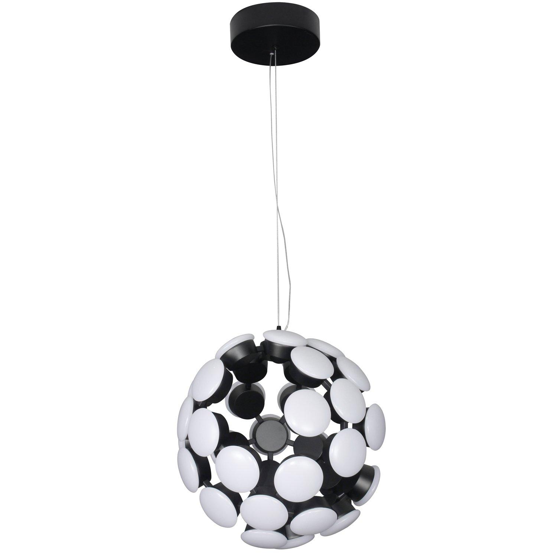 Adjustable Hanging Light Black 19.29 x 19.29 x 23.58 Vonn Lighting Modern Globe Chandelier Lighting Kastra Collection 19.29 x 19.29 x 23.58 VONN VMC32620BL Modern Celestial Mutli-Light Led Chandelier
