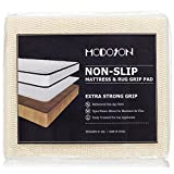 full size futon pad - MODOSON Non Slip Mattress Grip Pad Keeps All Mattress Types In Place For a Great Night's Sleep Ideal For Platform Bed or Futon Easy and Simple Rug Pads - Full Size 52.5