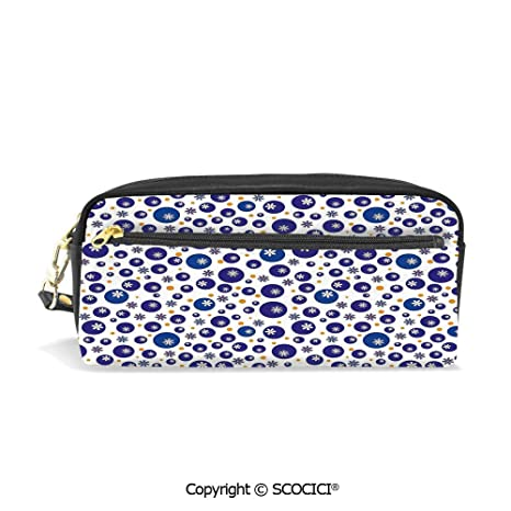 d4358dc57de0 Amazon.com : Students PU Pencil Case Pouch Women Purse Wallet Bag ...