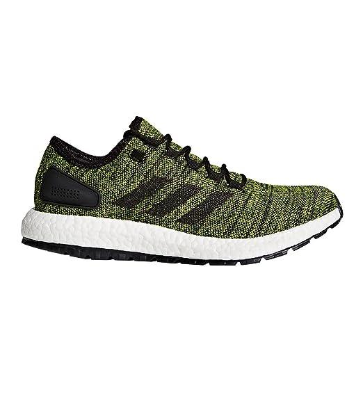 new style 9eab1 13f83 Amazon.com   adidas Pureboost All Terrain Green Black Running Shoes 11.5    Running