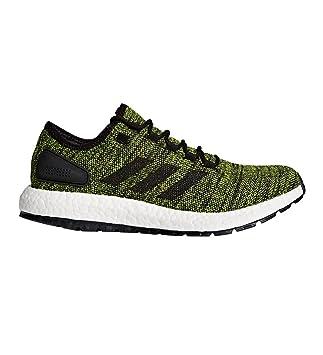 8ca01b3198850 adidas Pureboost All Terrain Green Black Running Shoes 11.5