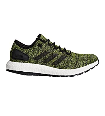 94157ee9b Image Unavailable. Image not available for. Color  adidas Pureboost All  Terrain Green Black Running Shoes 10
