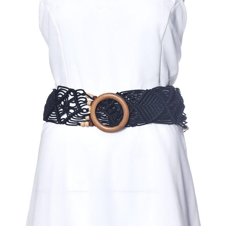 Sunward Women Vintage Wide Rope Braided Waist Belt Waistband Dress Waist Chain