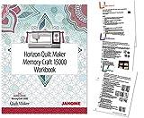 sewing machine buttonhole maker - Janome Horizon Quilt Maker MC15000 Workbook --- Full Version
