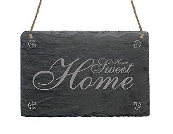 Pizarra placa placa « Home Sweet Home » presupuesto inodoro ...