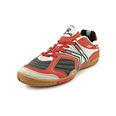 3666dc1ee KELME Star 360 Mens Michelin Leather Mesh Inset Soccer Shoes Red Black