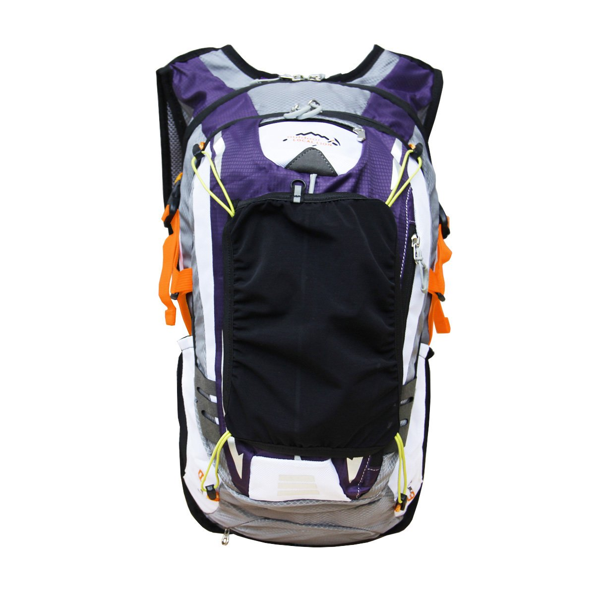Outdoor Sports Cycling Hiking Camping Travel Daypack, Water resistant, 18L(purple) by YOGOGO (Image #6)