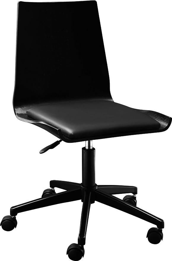 Habitat bureau Gandhi NoirCuisine Chaise de RA4q5jL3