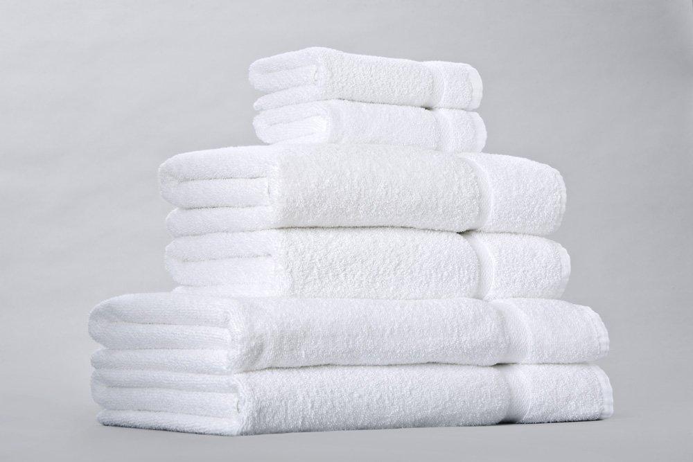 EuroTouch® de estándar de tela (6 piezas Hotel toallas de juego de toallas Collection=2 toallas de baño 27 x 54, 2 toallas de mano 16 x 27 y 2 toallas ...