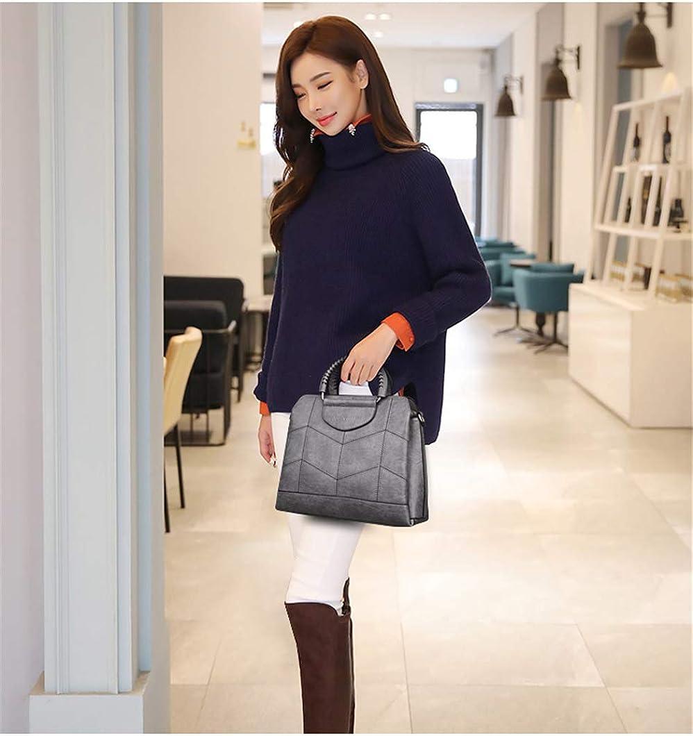 A-Gavvzq Tote Borse Di Lusso In Pelle Borse Da Donna Borse Di Design Borse A Tracolla Di Alta Qualità Per Donna Borsa A Mano 2019 Gray