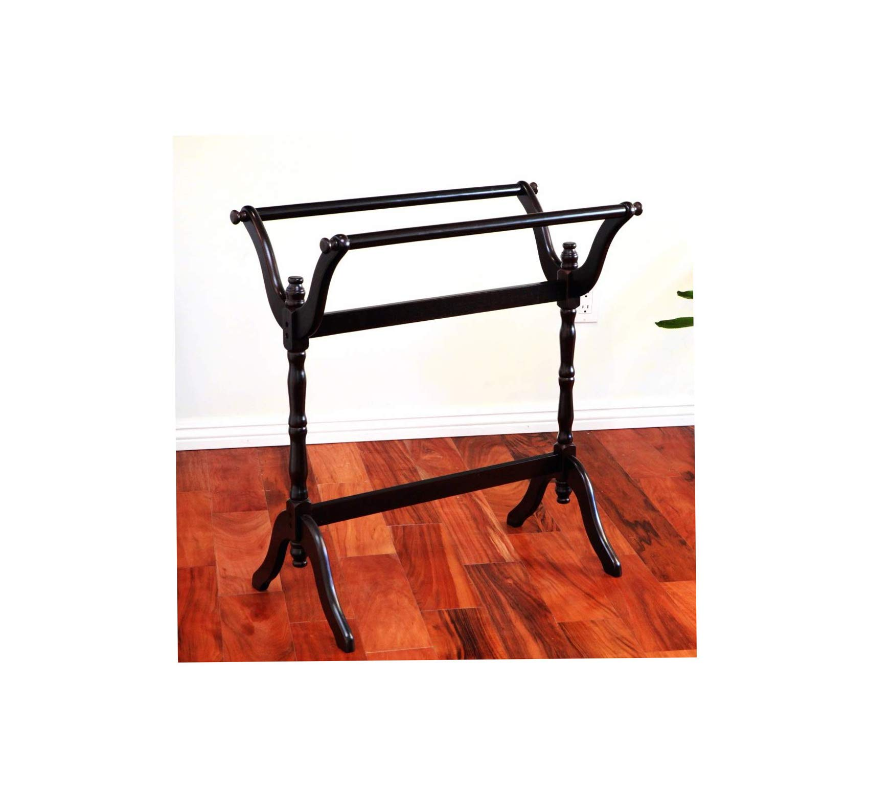 Wood & Style Furniture Blanket/Quilt Stand Home Office Commerial Heavy Duty Strong Décor