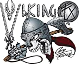 Artool Freehand Airbrush Templates, Viking Set