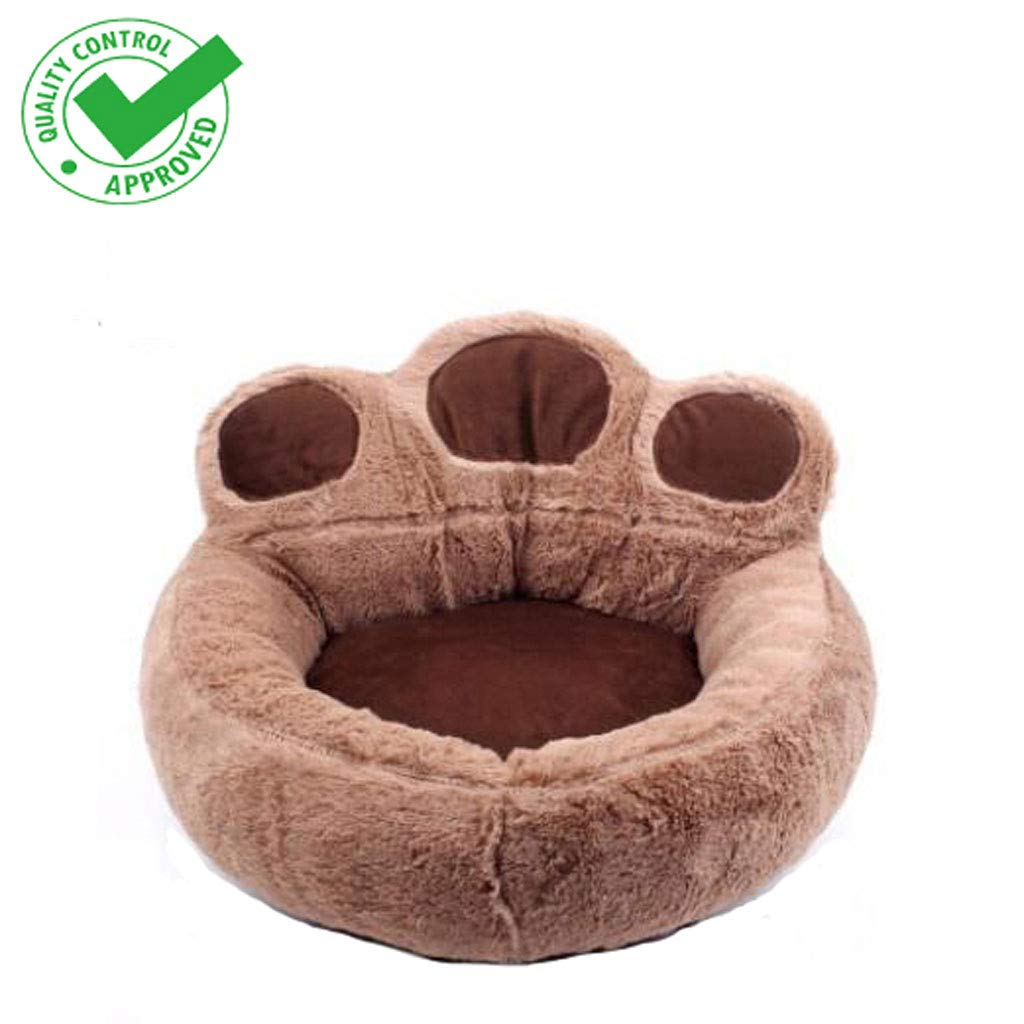 7380cm Yee Bear paw dog bed dog mat cat bed four seasons universal removable and washable small dog mat (Size   73  80cm)
