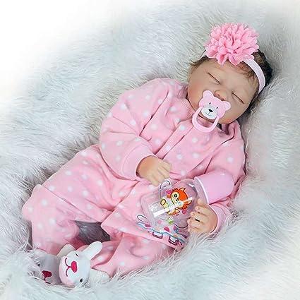 Amazon.com : Justtoyou Reborn Baby Dolls Silicone Baby Dolls Baby ...