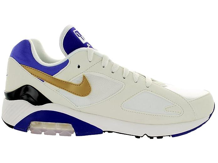 f4c6f5d701 Amazon.com   Nike Men's Air Max 180 QS Smmt Wht/Mtllc Gld/Brght Cncrd Running  Shoe 11 Men US   Running