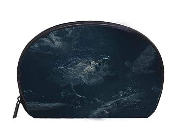 7297d103f3a0 Amazon.com : Multi-function/Half-moon Cosmetic Bag deep dreams in ...