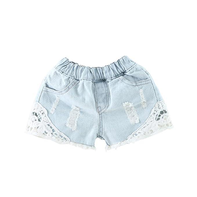 df815a5c009 Amazon.com  Kids Girls Denim Shorts