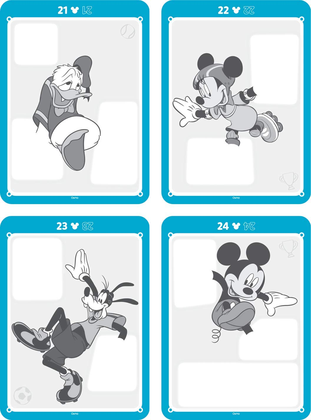 Osmo Super Studio Disney Mickey Mouse & Friends: Learn To Draw Your Clubhouse Favorites & Watch Them Come to Life! (Base Required) by Osmo (Image #9)