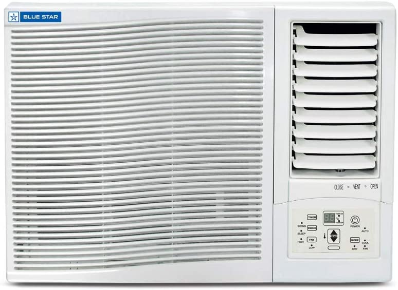 Blue Star 3WAE081YDF Window AC (0.75 Ton 3 Star Rating White)