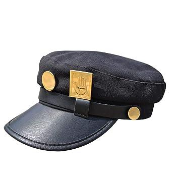 0444115ec Amazon.com : Ani·Lnc Jojos Hats JoJo's Bizarre Adventure Hat Jotaro ...